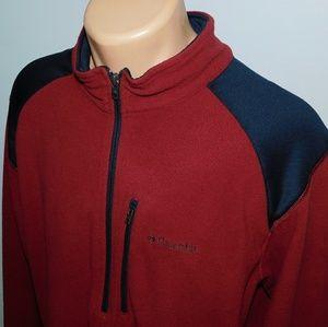 Columbia 1/4 zip mock neck pullover.  XL